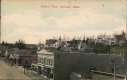 Partial View Postcard