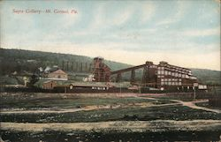 Sayre Colliery Postcard