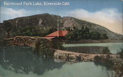 Fairmount Park Lake Postcard