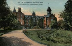 St. Helen's Hall Postcard
