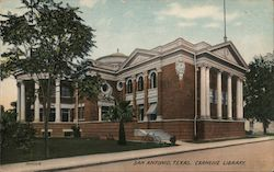 Carnegie Library Postcard