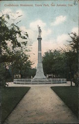 Confederate Monument - Travis Park