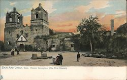 Mission Conception (The First Mission) Postcard