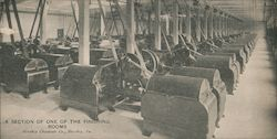 A Section of One of the Finishing Rooms, Hershey Chocolate Co. Postcard