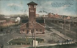 Union Station and Section of Factory District