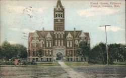 Court House, Fillmore County Postcard