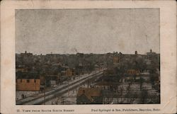 View from South Sixth Street Postcard