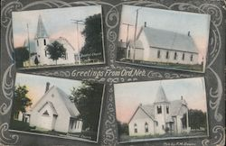 Church Views - Greetings from Ord Postcard