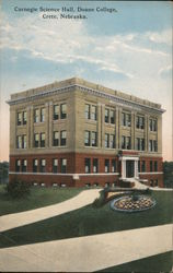 Carnegie Science Hall, Doane College Postcard