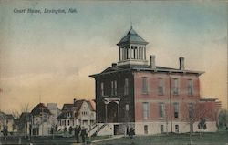 Court House, Lexington, Neb. Postcard