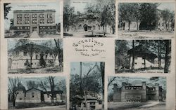 Greetings form Deans College Postcard