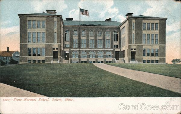 State Normal School Salem Massachusetts