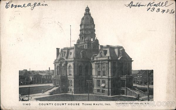 County Court House Terre Haute Indiana