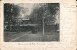 The Loomarwick, Lake Waramaug Postcard