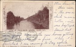 View of Mohawk River Postcard