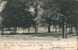 View of Williams Park, Broad and Williams Streets Postcard