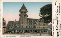 The Inn-Fronting Park Postcard