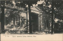 """Agora"" Wellesley College Postcard"