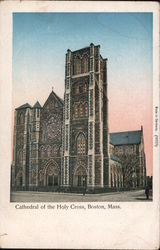 Cathedral of the Holy Cross Postcard