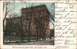 Mohican Hotel and Apartments Postcard