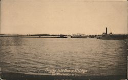 Grand Isle Draw Bridge Postcard