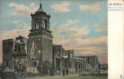 Mission San Jose (The Second Mission) Postcard