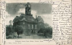 Wilbarger County Court House Postcard