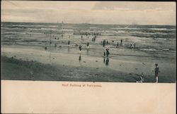 Surf Bathing at Galveston Postcard