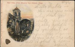Rear View (First Mission) Postcard