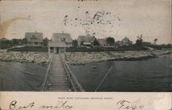 East Side Cottages, Shippan Point Postcard