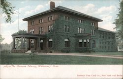 The Bronson Library Postcard