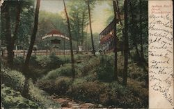 Indian Rock Hotel, Wissahickon Postcard