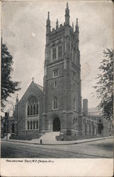 First M.E. Church of Germantown Postcard