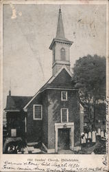Old Swedes' Church Postcard