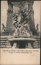 Soldiers and Sailors Monument, Troops in Action