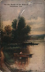 On the Banks of the Wabash Postcard