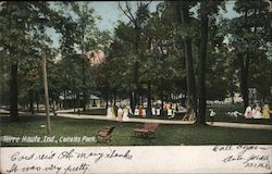 Colletts Park Postcard