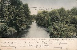 View of Christiana Creek Postcard