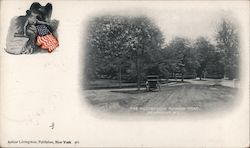 The Picturesque Rumson Road Postcard