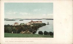 Mt. Kineo House From Golf Links, Moosehead Lake Postcard