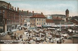Market Lot, Pintering Square Postcard