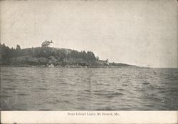 Bear Island Light Postcard