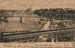 The Kennebec River Postcard