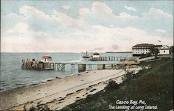 The Landing at Long Island, Casco Bay Postcard