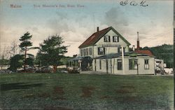New Meadow's Inn, Rear View Postcard