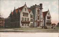 Ryerson Physical Laboratory, The University of Chicago Postcard
