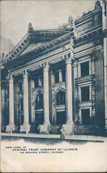New Home of Central Trust Company of Illinois Postcard