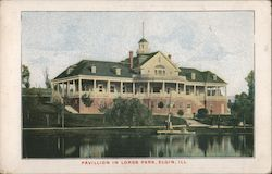 Pavillion in Lords Park Postcard