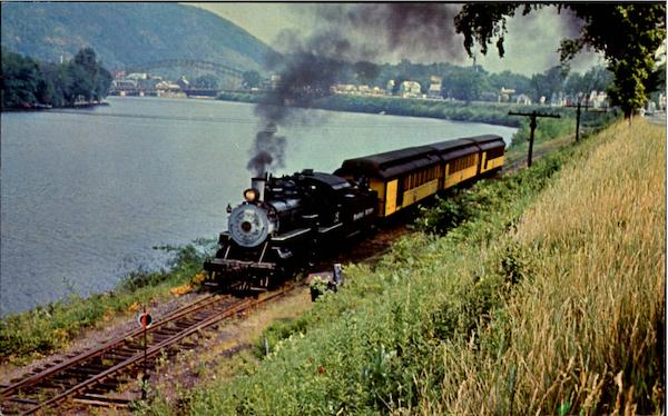 Steamtown U.S.A. Bellows Falls Vermont Trains, Railroad