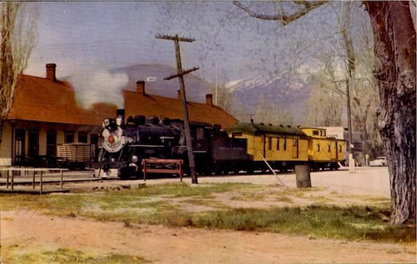 Virginia And Truckee Railroad On Its Last Trip Trains, Railroad